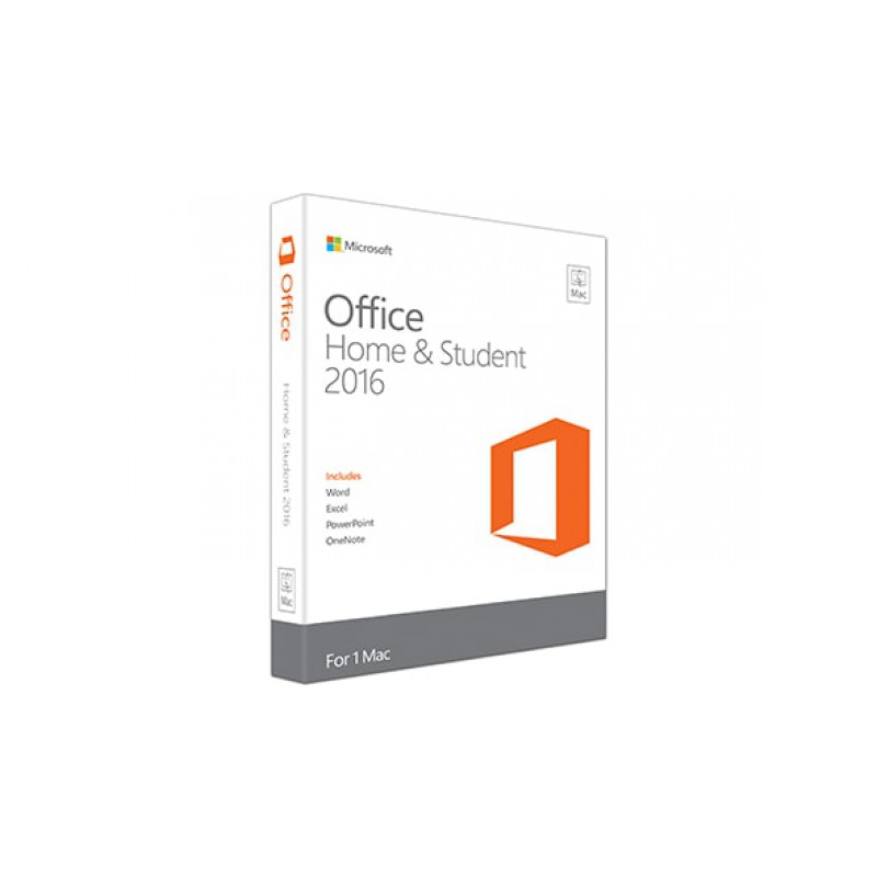 Microsoft Office -  Mac Home Student 2016 English