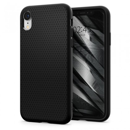 "Spigen New iPhone 6.1"" Case Liquid Air Matte Black 064CS24872"