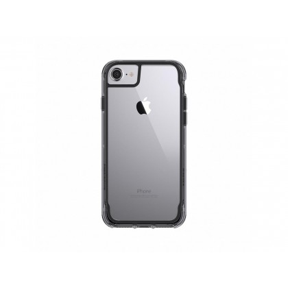 Griffin Survivor Clear for iPhone 7 in Black/Smoke/Clear Color