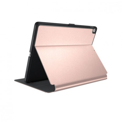 iPad 9.7-inch (2017) Balance Folio Metallic - Textured Rose Gold/Graphite Grey