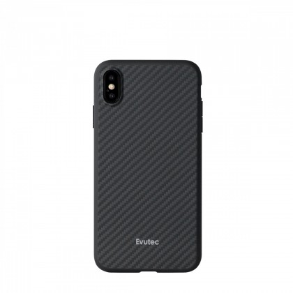 Evutec AER Series iPhone Xs Max Karbon Black (AFIX+ Magnetic Mount Included)