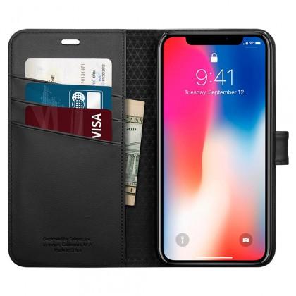 Spigen iPhone X Wallet S Black 057CS22176
