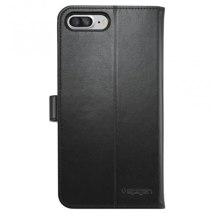 Spigen iPhone 7 Plus Case Wallet S Black 043CS20543