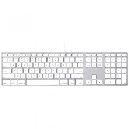 Apple Keyboard with Numeric Keypad - Arabic