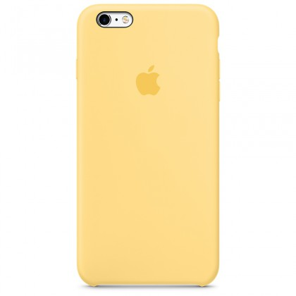 iPhone 6s Plus Silicone Case - Yellow