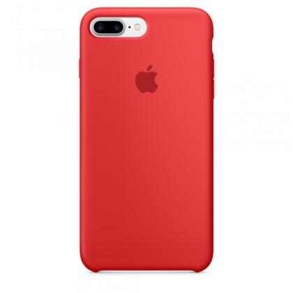 iPhone 7 Plus Silicone Case - Black