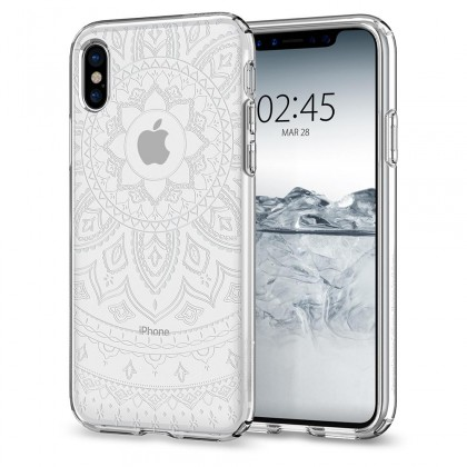 Spigen iPhone X Liquid Crystal Shine Crystal Clear 057CS22120
