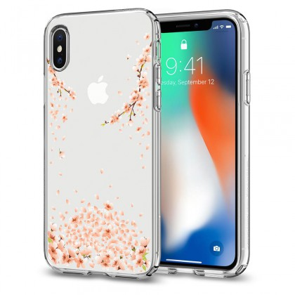 Spigen iPhone X Liquid Crystal Blossom Crystal Clear 057CS22121
