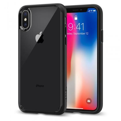 Spigen iPhone X Ultra Hybrid Matte Black 057CS22129