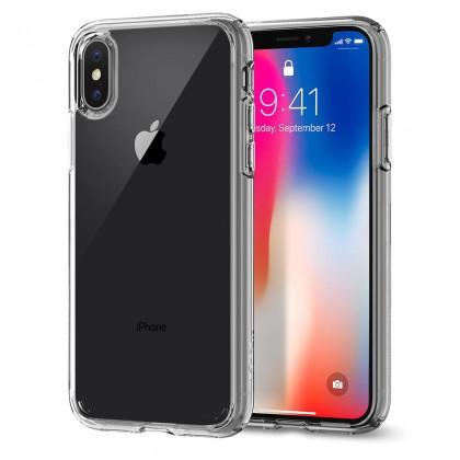 Spigen iPhone X Ultra Hybrid Crystal Clear 057CS22127