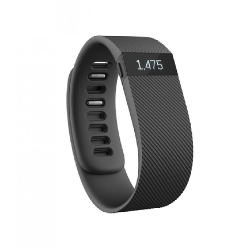 Fitbit Charge, velikost L, černý