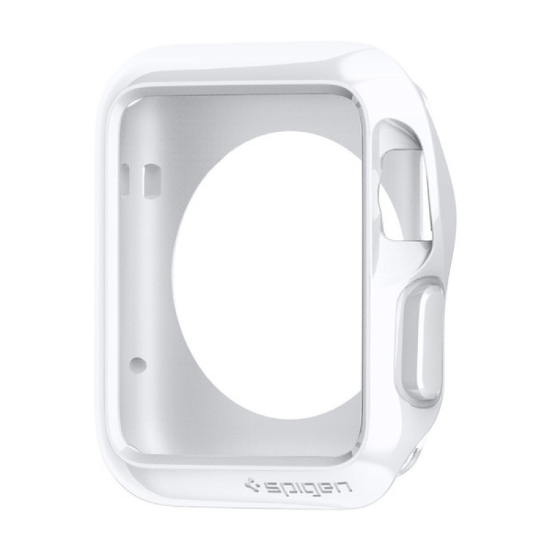Spigen Slim Armor - tenké pouzdro pro AppleWatch (42mm) - bílé