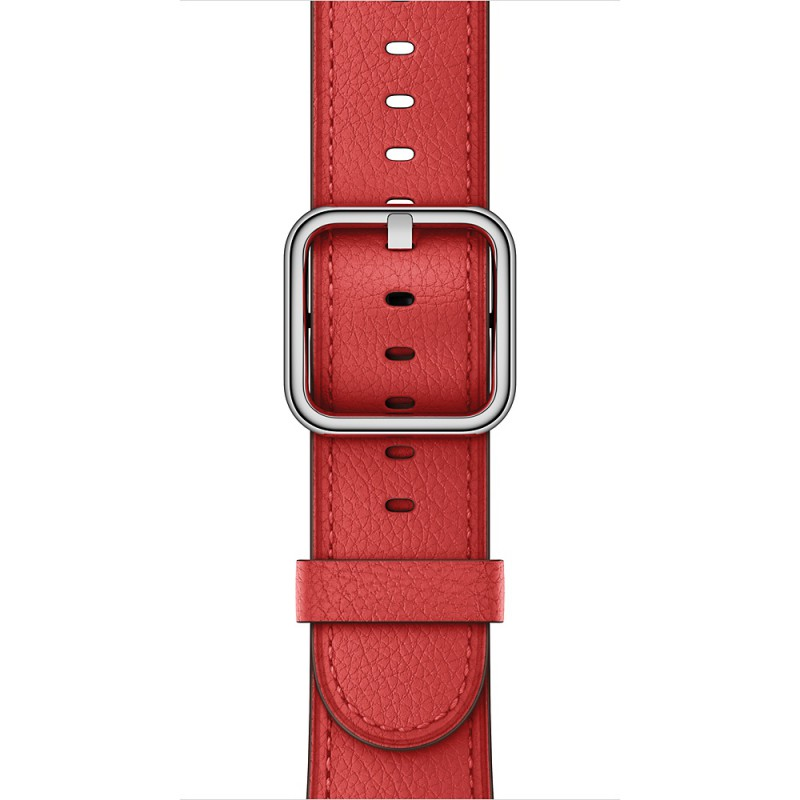 Apple Classic Buckle - red