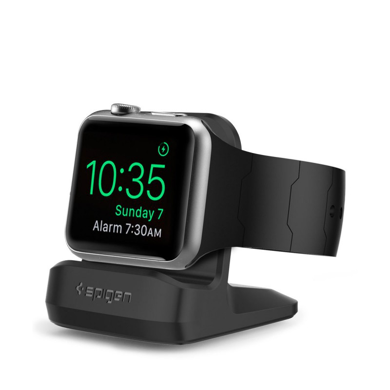 Spigen S350, Apple Watch stojánek - černý
