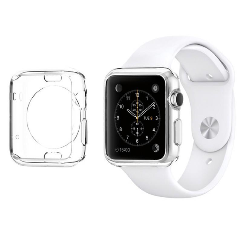 Spigen Liquid, průhledné pouzdro pro Apple Watch (42mm)