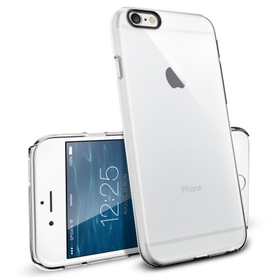 Spigen Thin Fit , crystal clear - iPhone