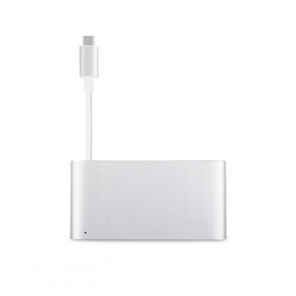USB-C Multiport Adapter Silver - Silver