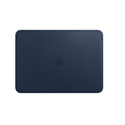 Leather Sleeve for 13-inch MacBook Pro – Midnight Blue