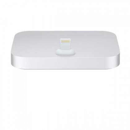 Apple - iPhone Lightning Dock - Silver