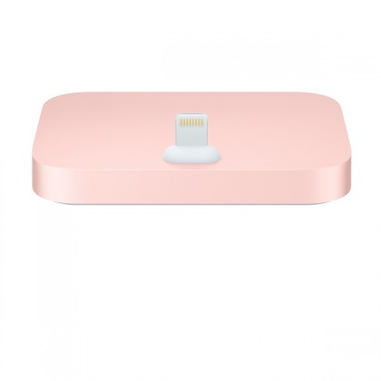 Apple - iPhone Lightning Dock - Rose gold