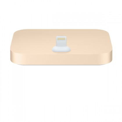 Apple - iPhone Lightning Dock - Gold