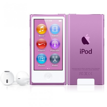 iPod nano 16GB, fialový