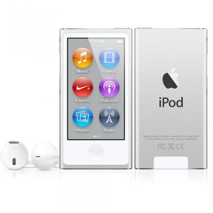 iPod nano 16GB, stříbrný (vystavený, záruka 6 měsíců)