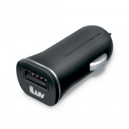iLuv USB car charger - 2.1A