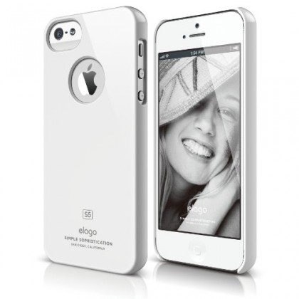 Elago S5 Slim Fit Case - White
