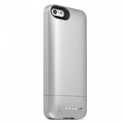 Mophie pouzdro s baterií Juice pack helium pro iPhone 5/5S, ocelově stříbrná