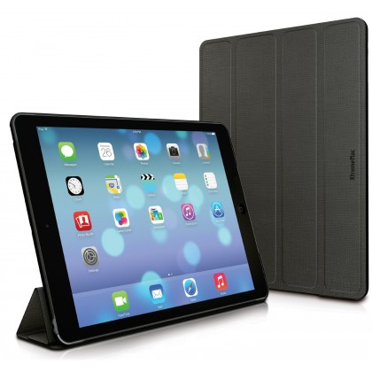 XtremeMac Microfolio iPad Air Medium Tones, Licorice