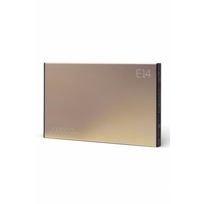Externí baterie 20 000 mAh ELOOP E14, zlatá (poškozená)