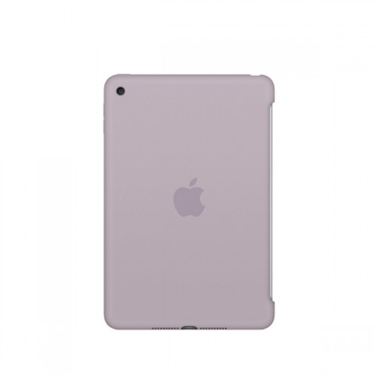 Apple - iPad mini 4 Silicone Case - Lavender