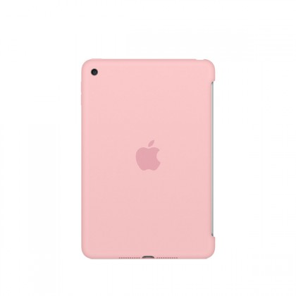 Apple - iPad mini 4 Silicone Case - Pink