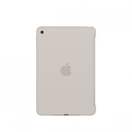 Apple - iPad mini 4 Silicone Case - Stone