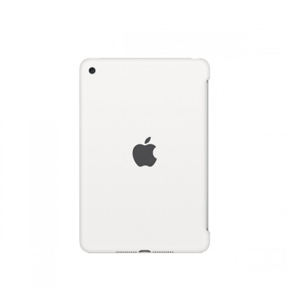 Apple - iPad mini 4 Silicone Case - White