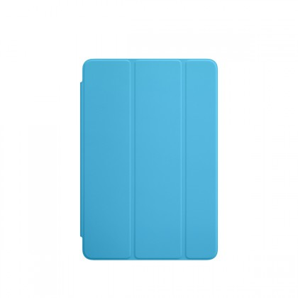 Apple - iPad mini 4 Smart Cover - Blue
