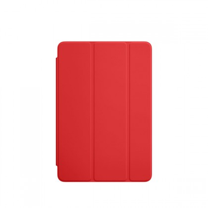 Apple - iPad mini 4 Smart Cover - Red