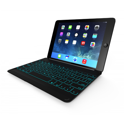 ZAGGkeys Cover Space Gray Backlit pro Apple iPad Air CZ/SK