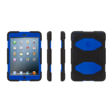 Griffin Survivor for iPad mini, Saffron - Black/Blue Cases iPad cases