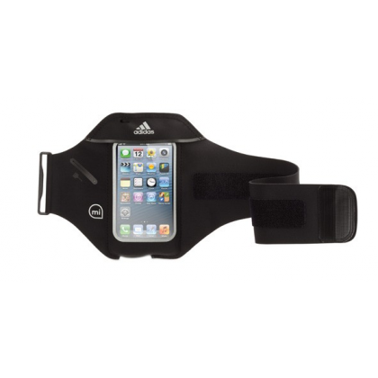 Griffin - adidas miCoach Armband for iPhone 5/5s/5c - Black