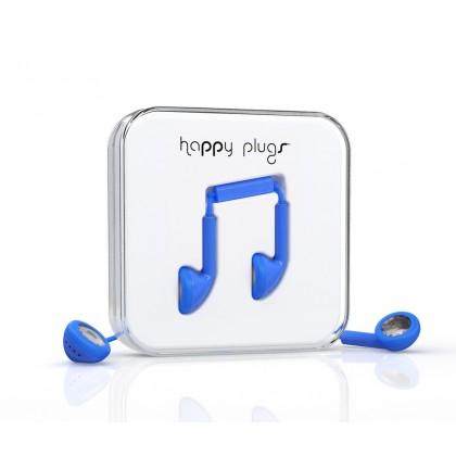 Happy Plugs Earbud sluchátka modré