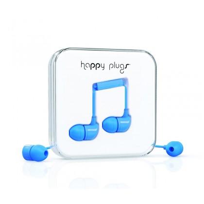 Happy Plugs In-Ear sluchátka modré