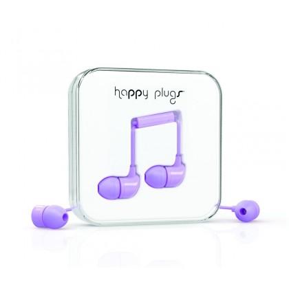 Happy Plugs In-Ear sluchátka levandulové
