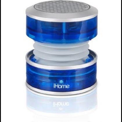 iHome iHM60, mini reproduktor – modrý