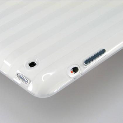 Puro for iPad 2 New iPad Plasma Cover, clear