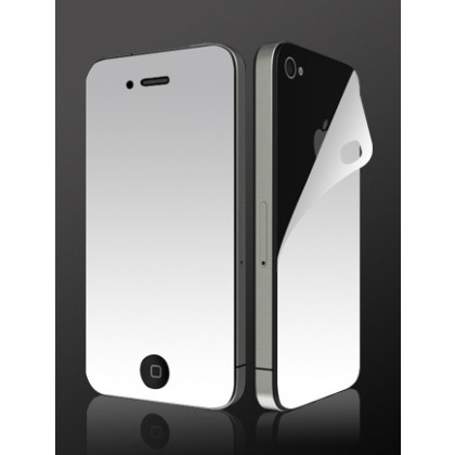 MORE Screen protector Mirror Dual (front&back) iPhone4/4S EOL