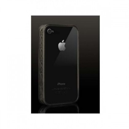 More Trinity Polymer Jelly Ring for iPhone 4, Dark Gray