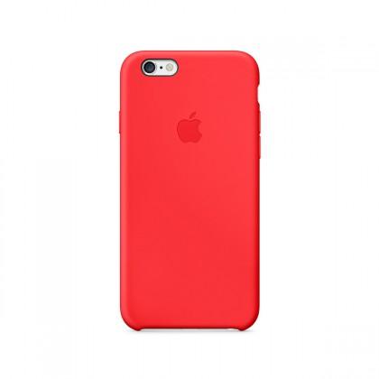 Apple Silikonový kryt na iPhone 6 - (PRODUCT)RED