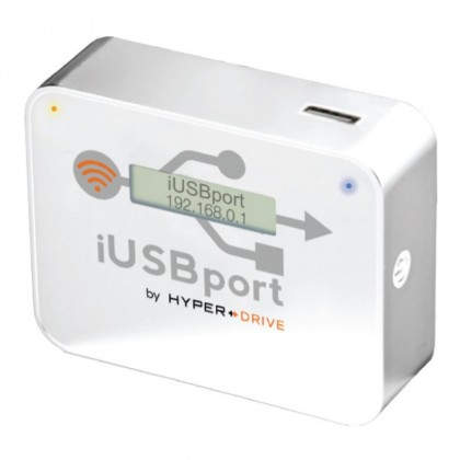 CloudFTP iUSBport, WiFi hotspot pro USB, bílé